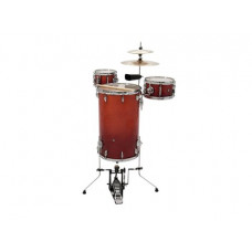 DIMAVERY CDS Cocktail Schlagzeug, orangeburst