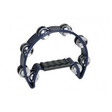DIMAVERY TN-2 Tamburin plastik, blau