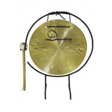 DIMAVERY Gong, 25cm mit Ständer/Klöppel