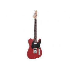 DIMAVERY TL-401 E-Gitarre, rot