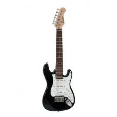 DIMAVERY J-350 E-Gitarre ST schwarz