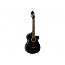 DIMAVERY CN-600E Klassikgitarre, schwarz