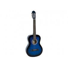 DIMAVERY AC-303 Klassikgitarre, blueburst