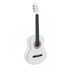 DIMAVERY AC-303 Klassikgitarre, weiß