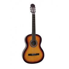 DIMAVERY AC-303 Klassikgitarre, sunburst