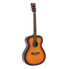 DIMAVERY AW-303 Westerngitarre sunburst
