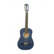 DIMAVERY AC-303 Klassikgitarre 1/2, blau