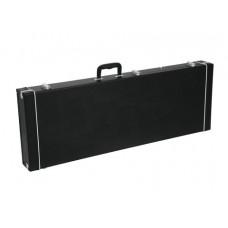 DIMAVERY Holz-Case f. E-Bass, rechteck
