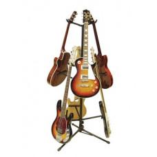 DIMAVERY Gitarrenbaum 6-fach, schwarz