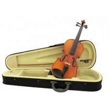 DIMAVERY Violine 3/4 mit Bogen, im Case