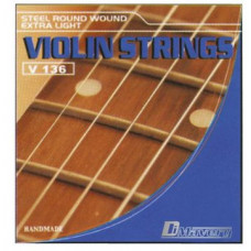 DIMAVERY Violin-Saiten-Set 0.09-0.29