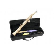 DIMAVERY SP-10 Bb Sopransaxophon, gold